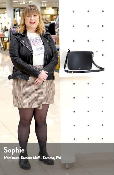 Sac Stephanie Leather Crossbody Bag, sales video thumbnail