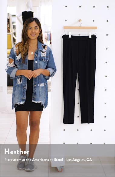 Wool Blend Flannel Pull-On Pants, sales video thumbnail
