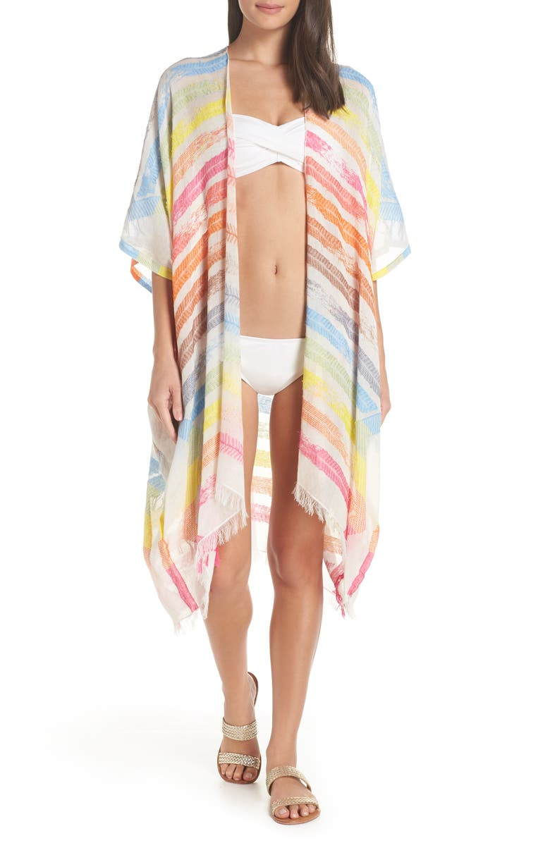 POOL TO PARTY Tunic Caftan, Main, color, 100