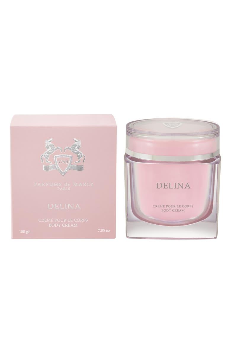 PARFUMS DE MARLY Delina Body Cream, Main, color, 000