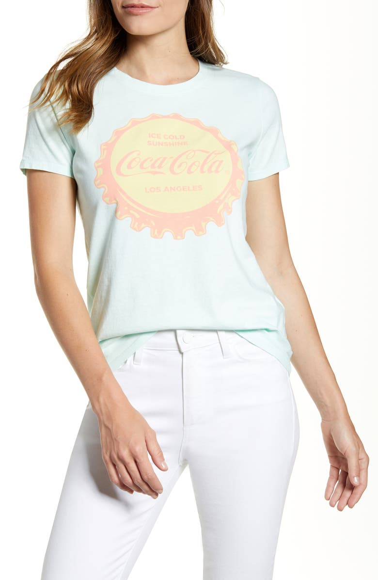 Lucky Brand Coca Cola Graphic Tee