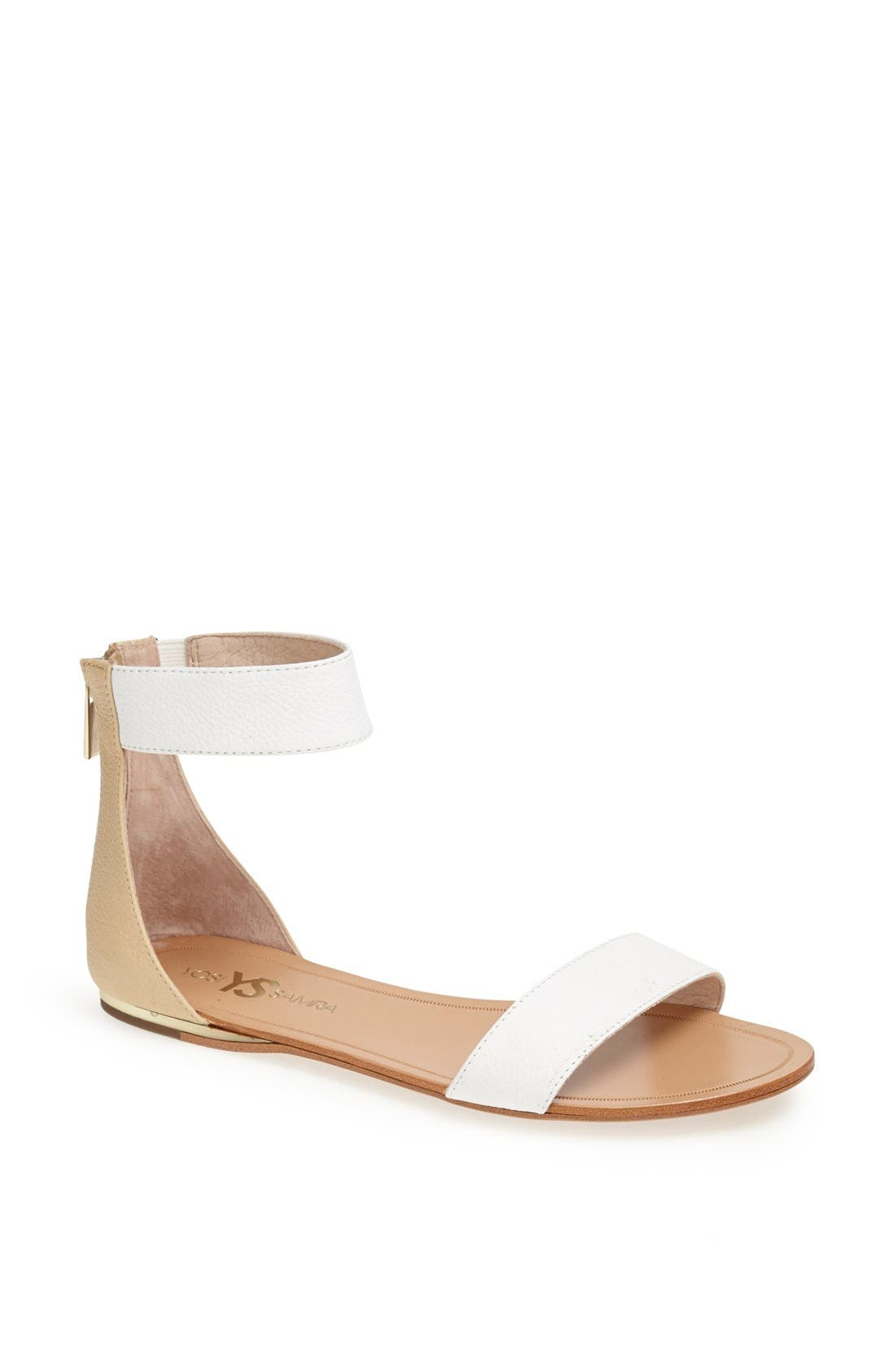 ,                             'Cambelle' Ankle Strap Sandal,                             Main thumbnail 14, color,                             100