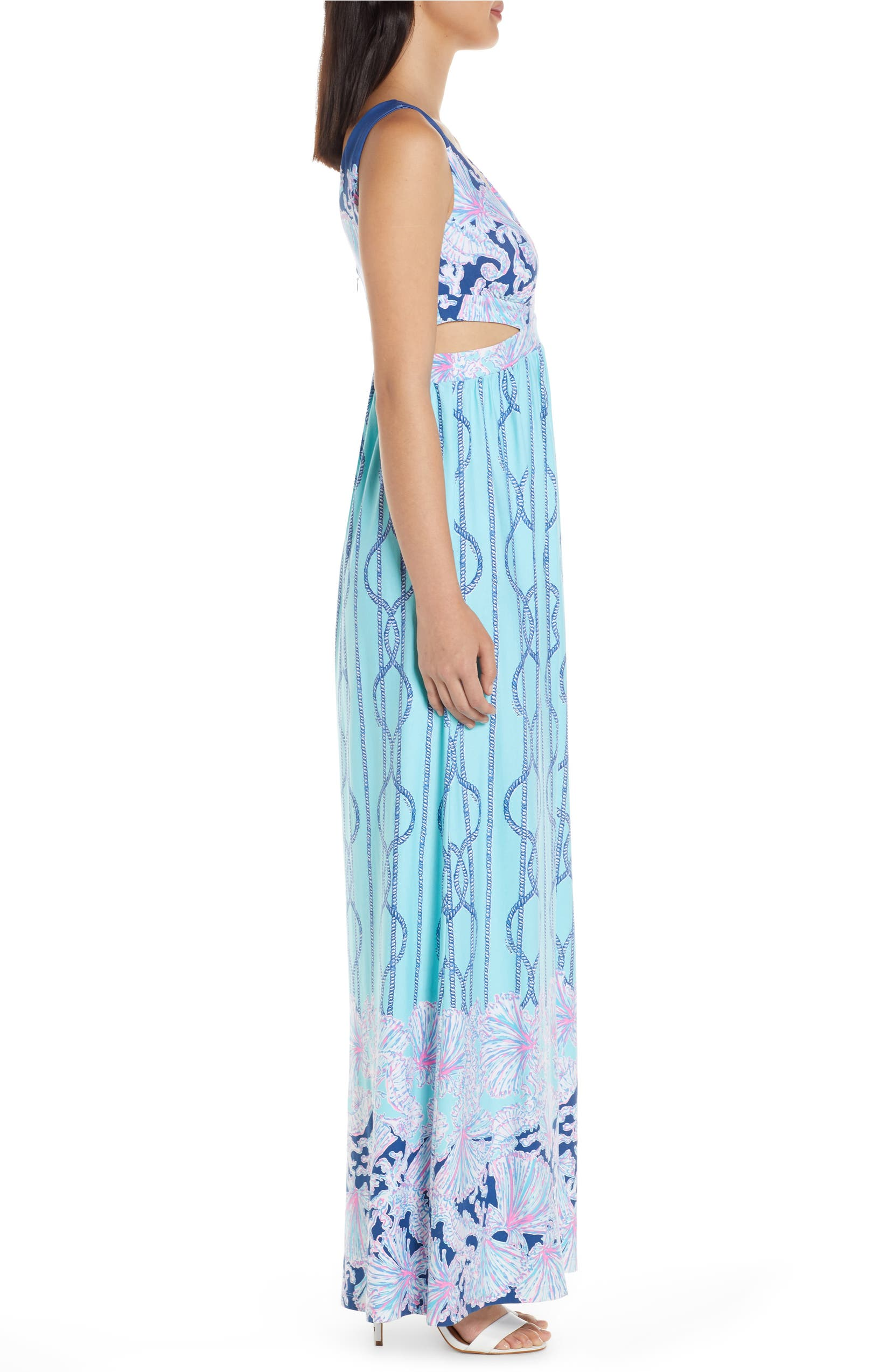 300f9ad908 Lilly Pulitzer® Marcia Cutout Maxi Dress | Nordstrom