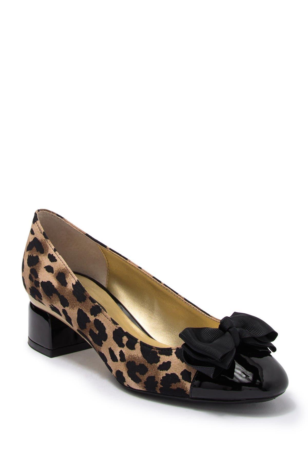 leopard shoes wide width