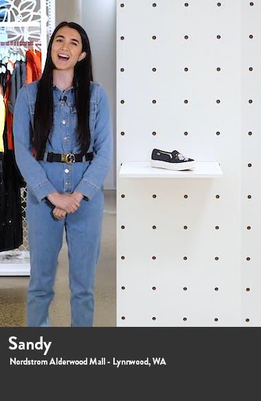 x Rifle Paper Co. Embellished Triple Decker Slip-On Sneaker, sales video thumbnail