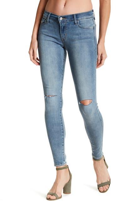 Image of Levi's 710 Mid Rise Super Skinny Jean