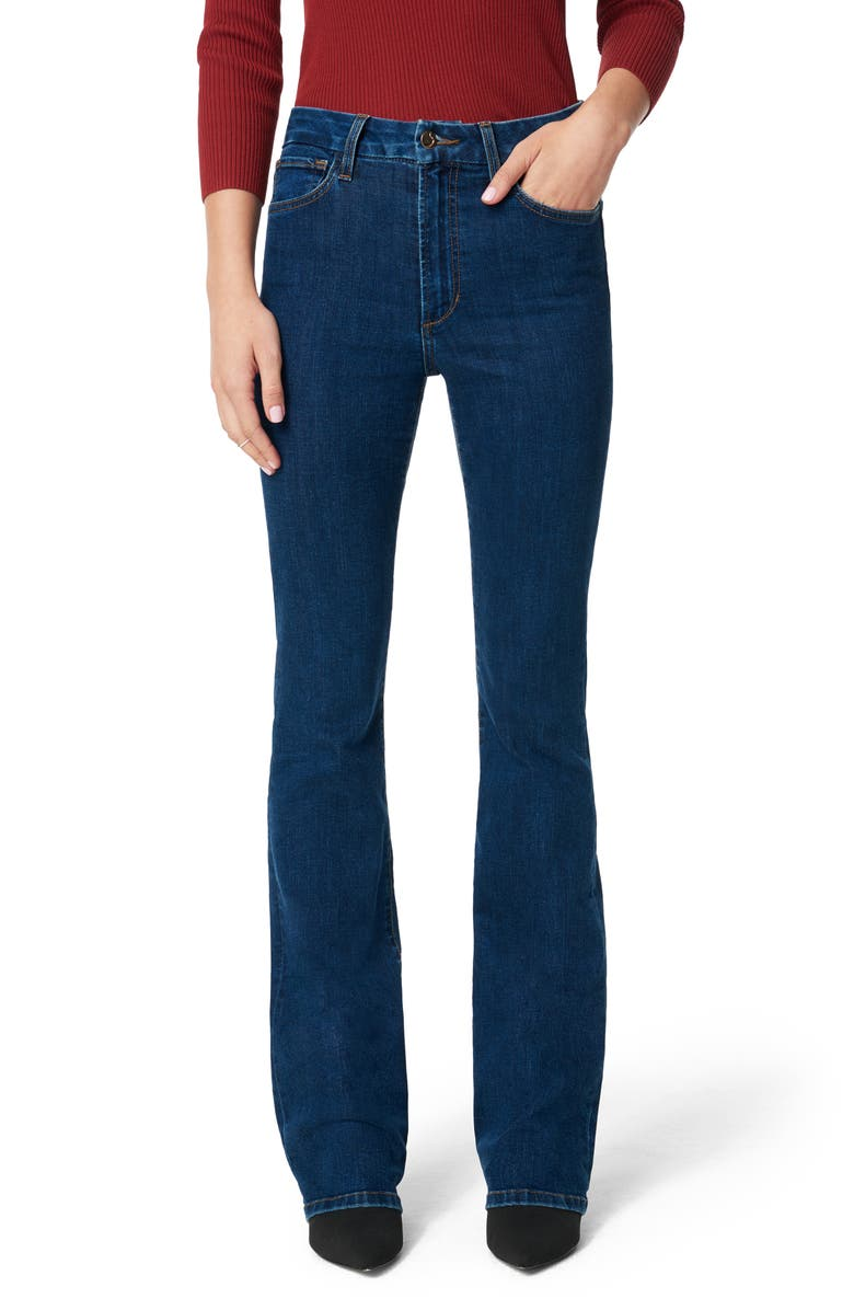JOE'S The Hi Rise Honey High Waist Curvy Bootcut Jeans, Main, color, THUNDERBIRD