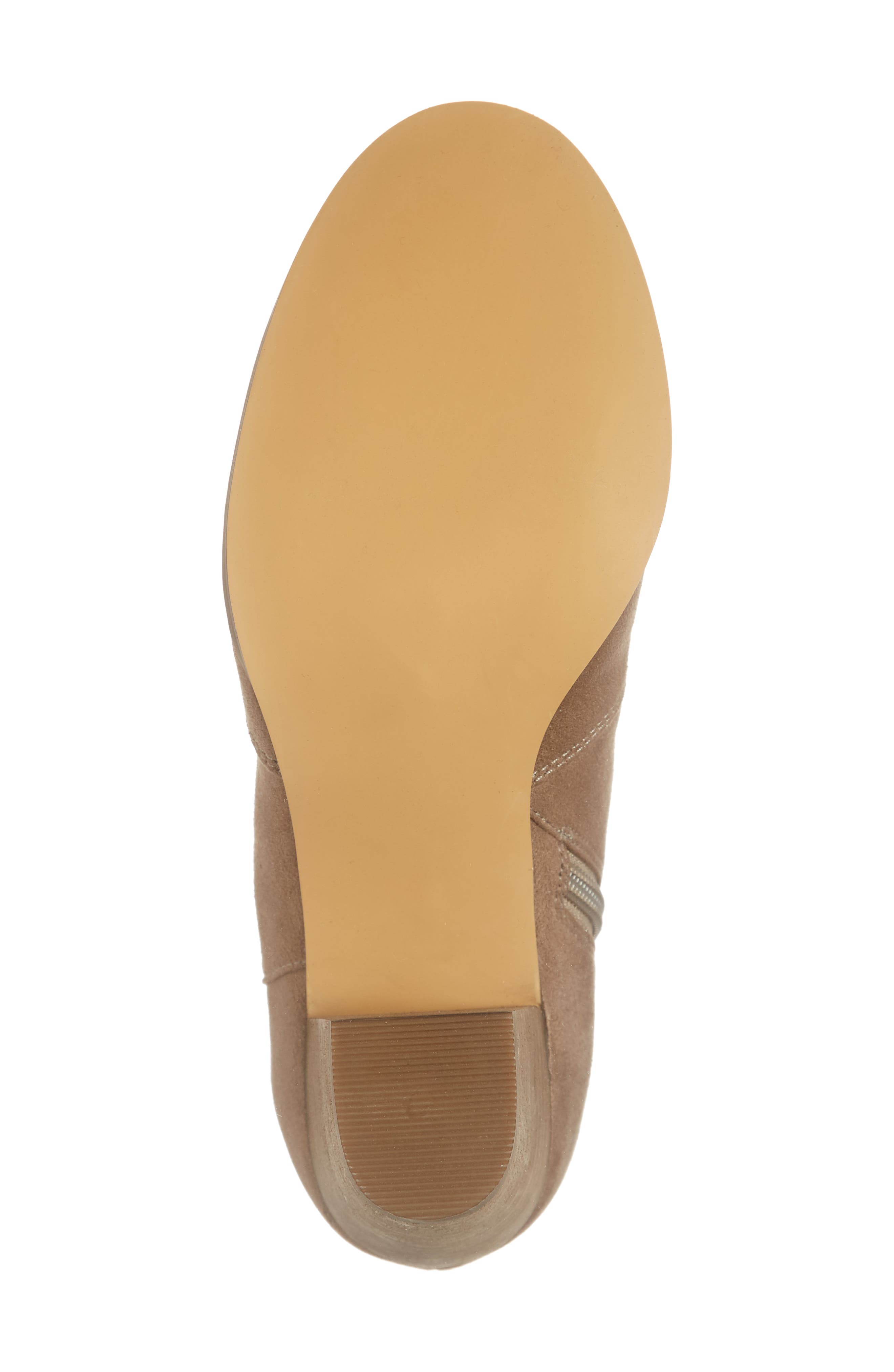 ,                             Nolly Bootie,                             Alternate thumbnail 6, color,                             TAUPE FAUX SUEDE