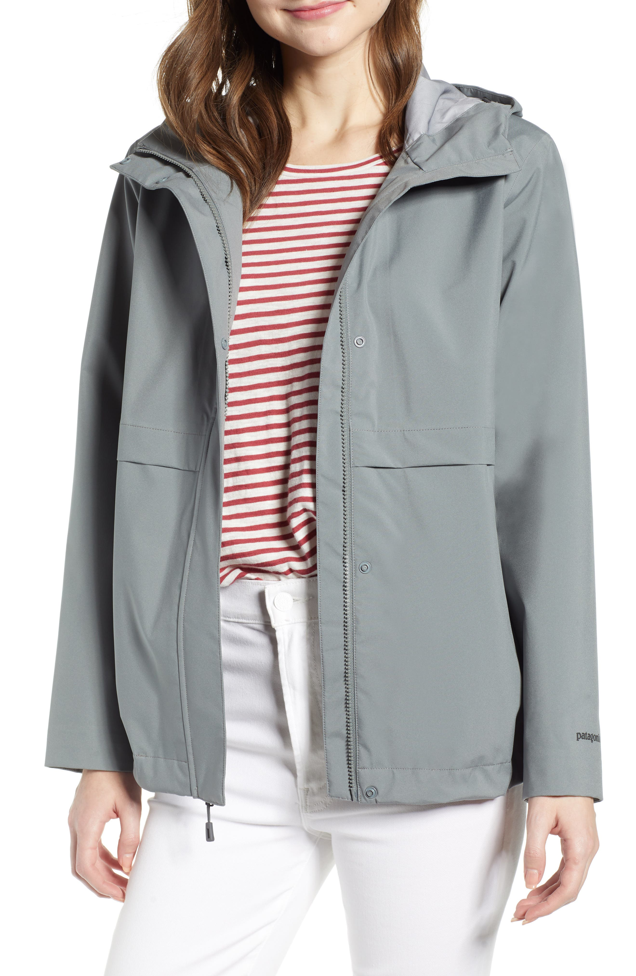 Patagonia Cloud Country Waterproof Jacket, Grey