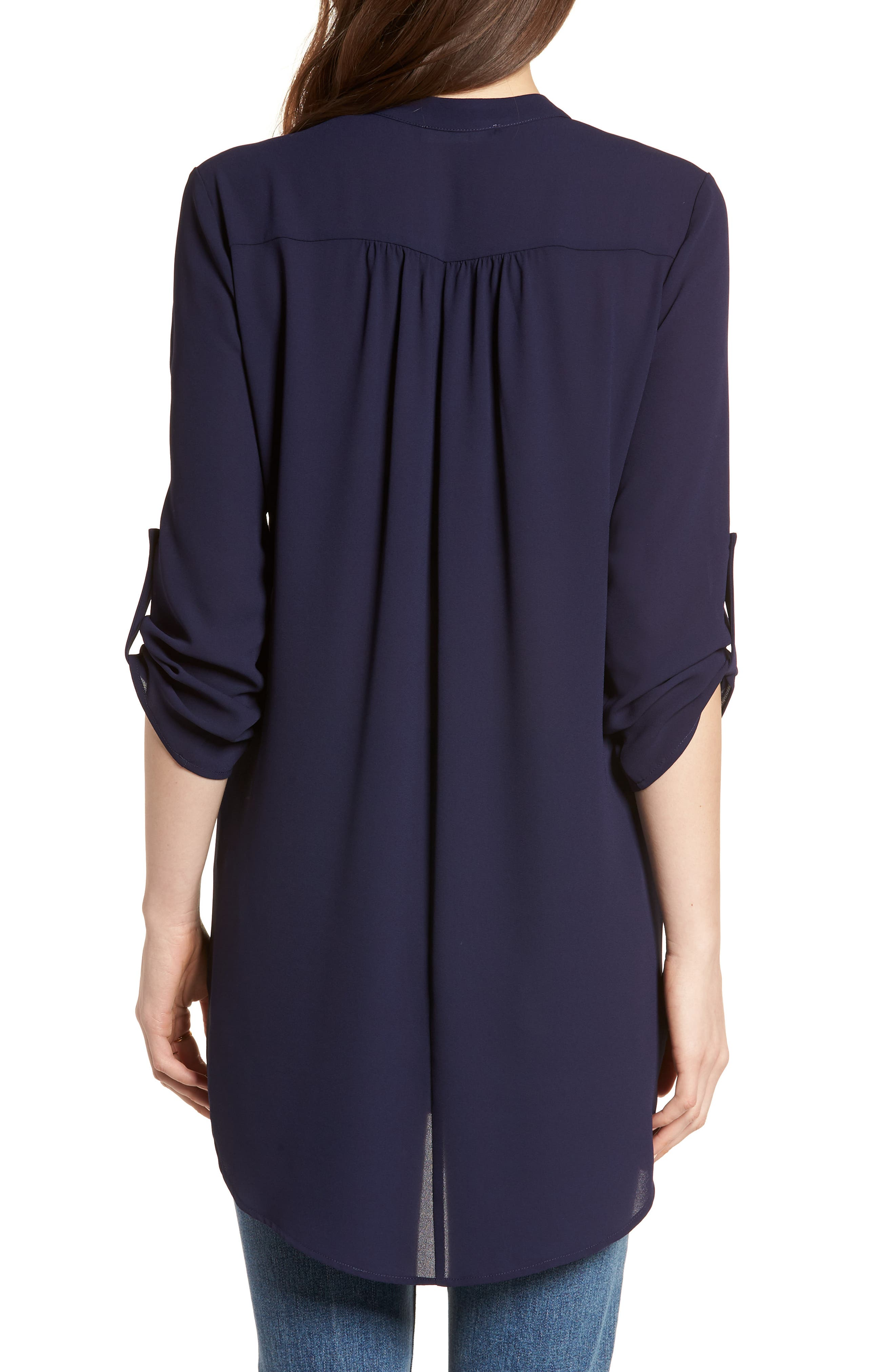 ,                             Perfect Roll Tab Sleeve Tunic,                             Alternate thumbnail 267, color,                             403