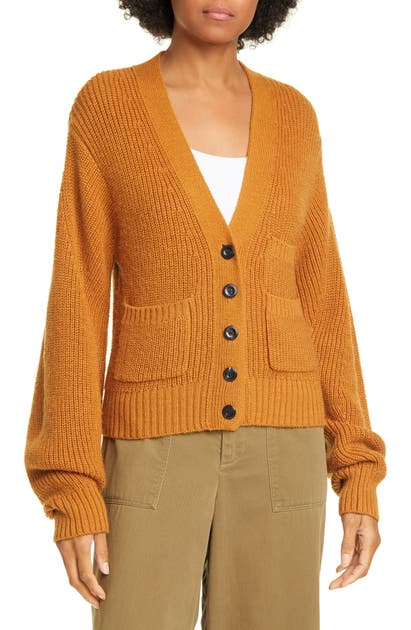 Sea Tops RIB WOOL BLEND CARDIGAN
