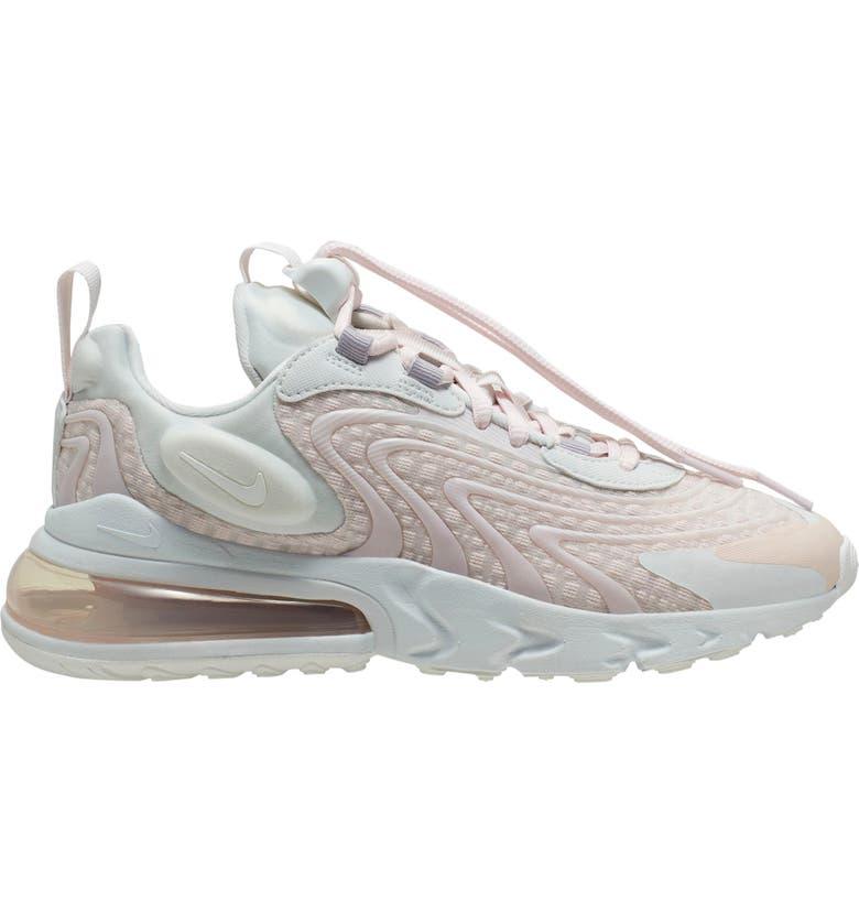 NIKE Air Max React 270 ENG Sneaker, Main, color, PHOTON DUST/ SUMMIT WHITE