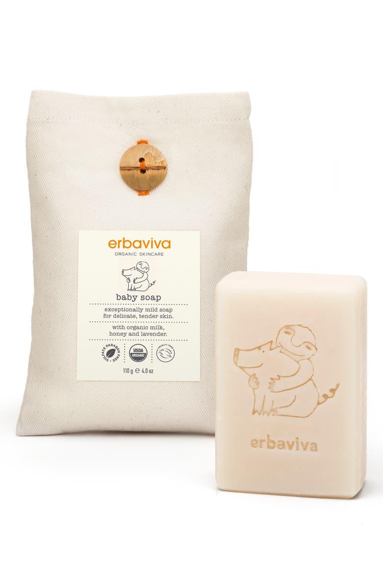 ERBAVIVA Baby Soap, Main, color, NO COLOR