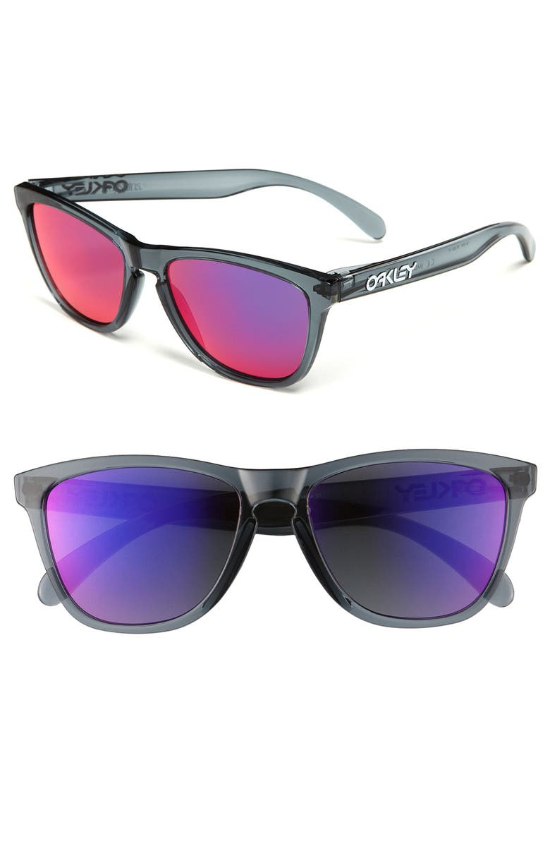 OAKLEY 'Frogskins<sup>®</sup>' 55mm Sunglasses, Main, color, 001