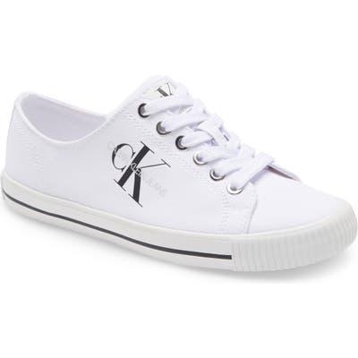 Calvin Klein Diamante Sneaker, White