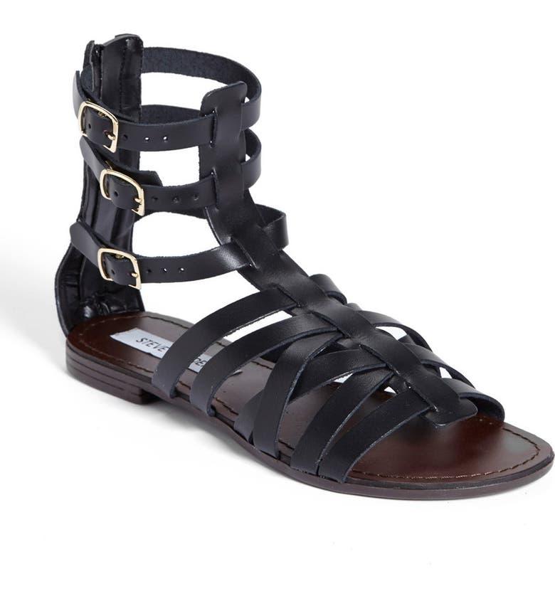 STEVE MADDEN 'Plato' Sandal, Main, color, 001