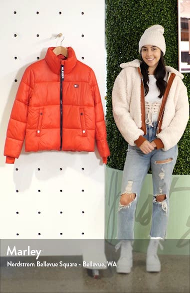 Crop Puffer Coat, sales video thumbnail