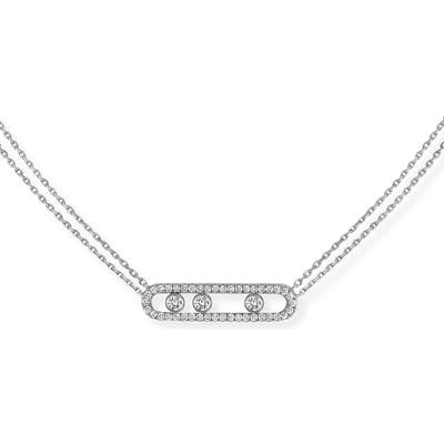 Messika Move Pave Diamond Pendant Necklace