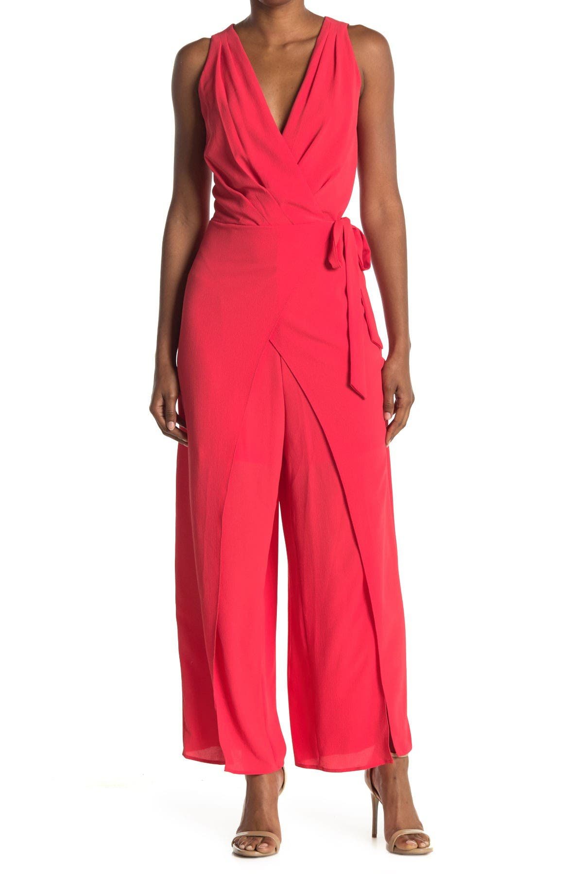 Image of London Times Catalina Solid Jumpsuit