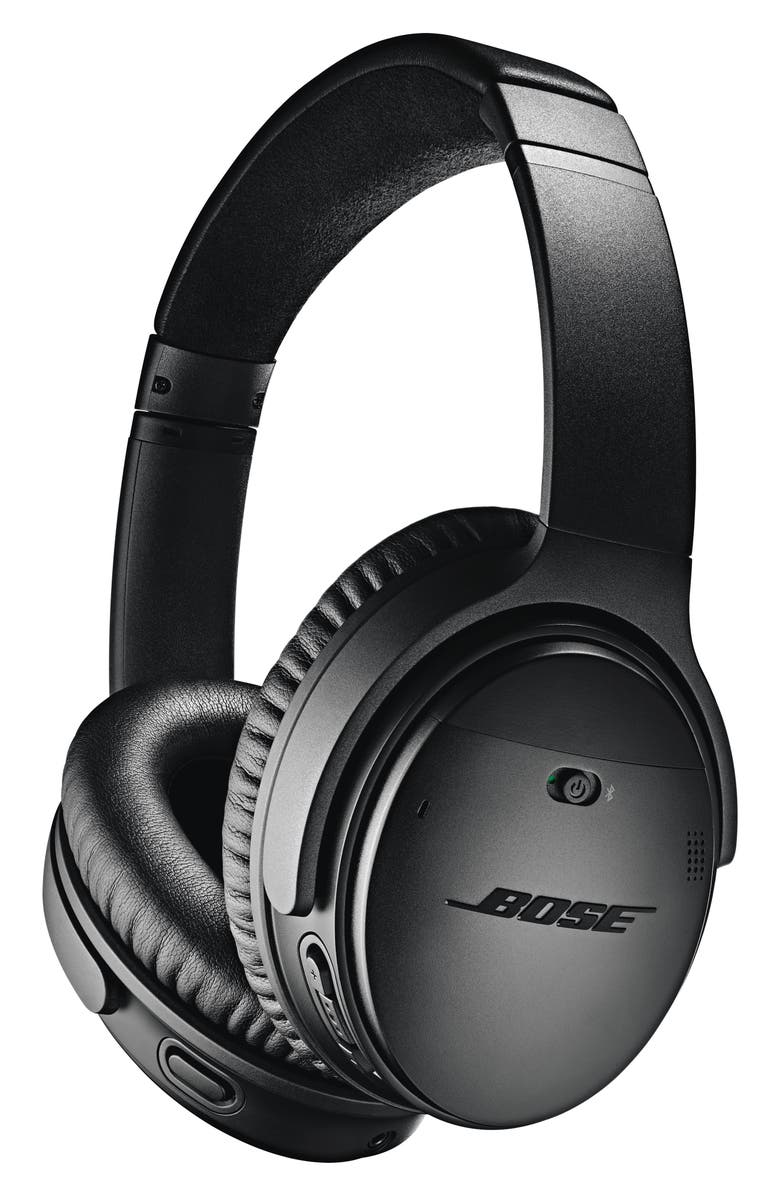 BOSE<SUP>®</SUP> QuietComfort<sup>®</sup> 35 Wireless Over-Ear Headphones II with Google Assistant, Main, color, BLACK