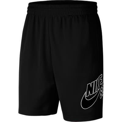 Nike Sb Sunday Dri-Fit Skate Shorts, Black