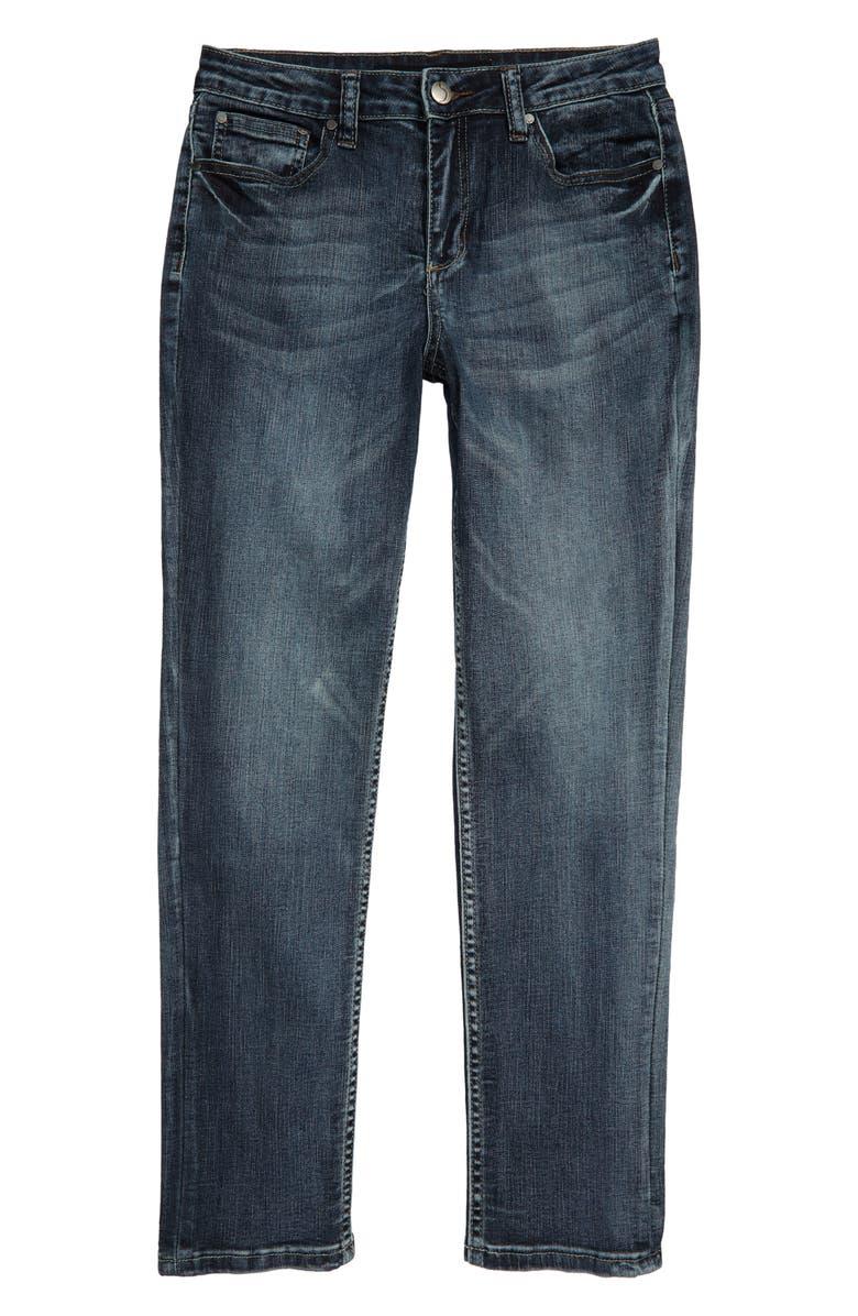 JOE'S Brixton Straight Leg Stretch Jeans, Main, color, WATERFRONT WASH