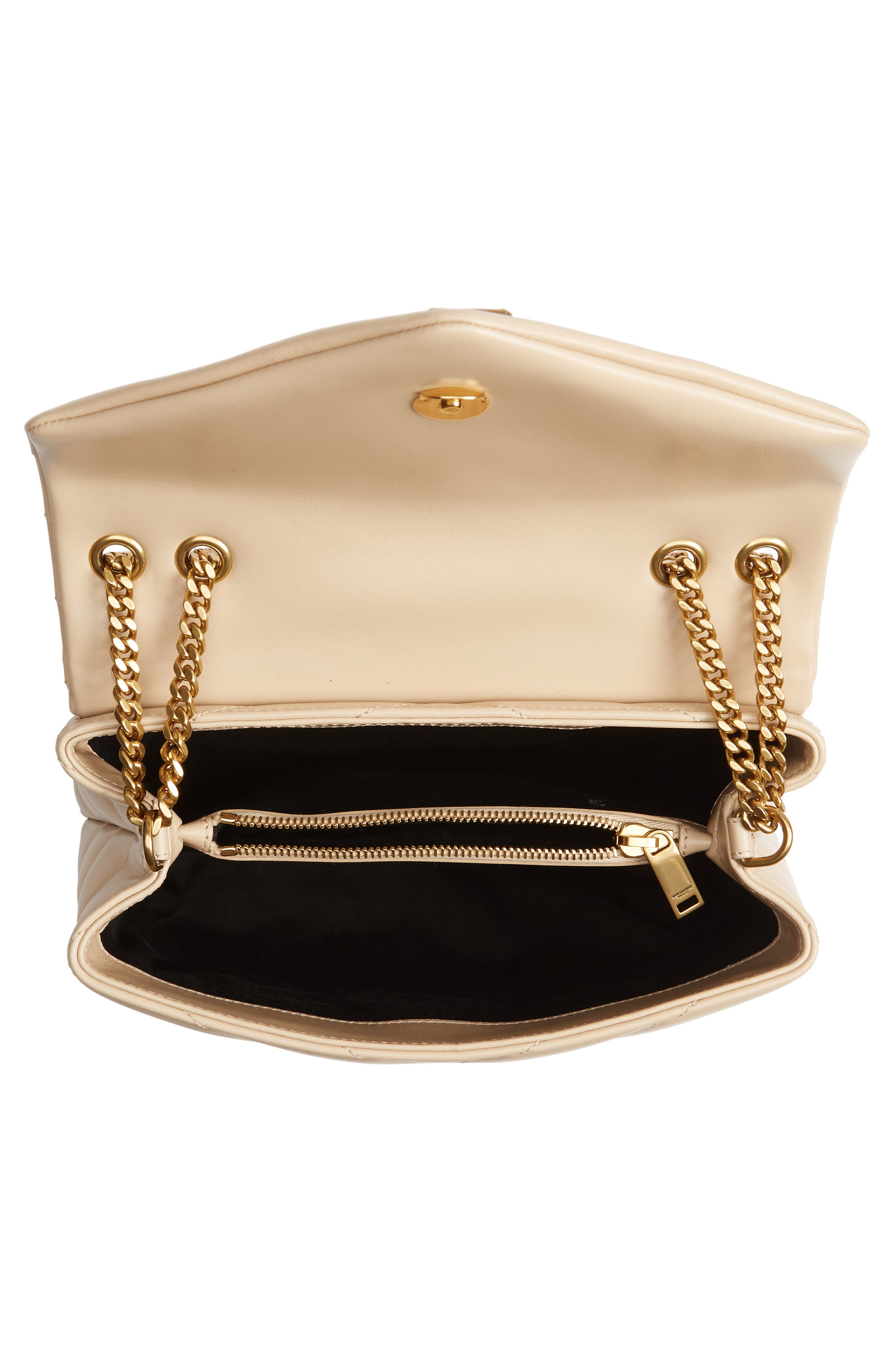 ,                             Small Loulou Leather Shoulder Bag,                             Alternate thumbnail 14, color,                             251