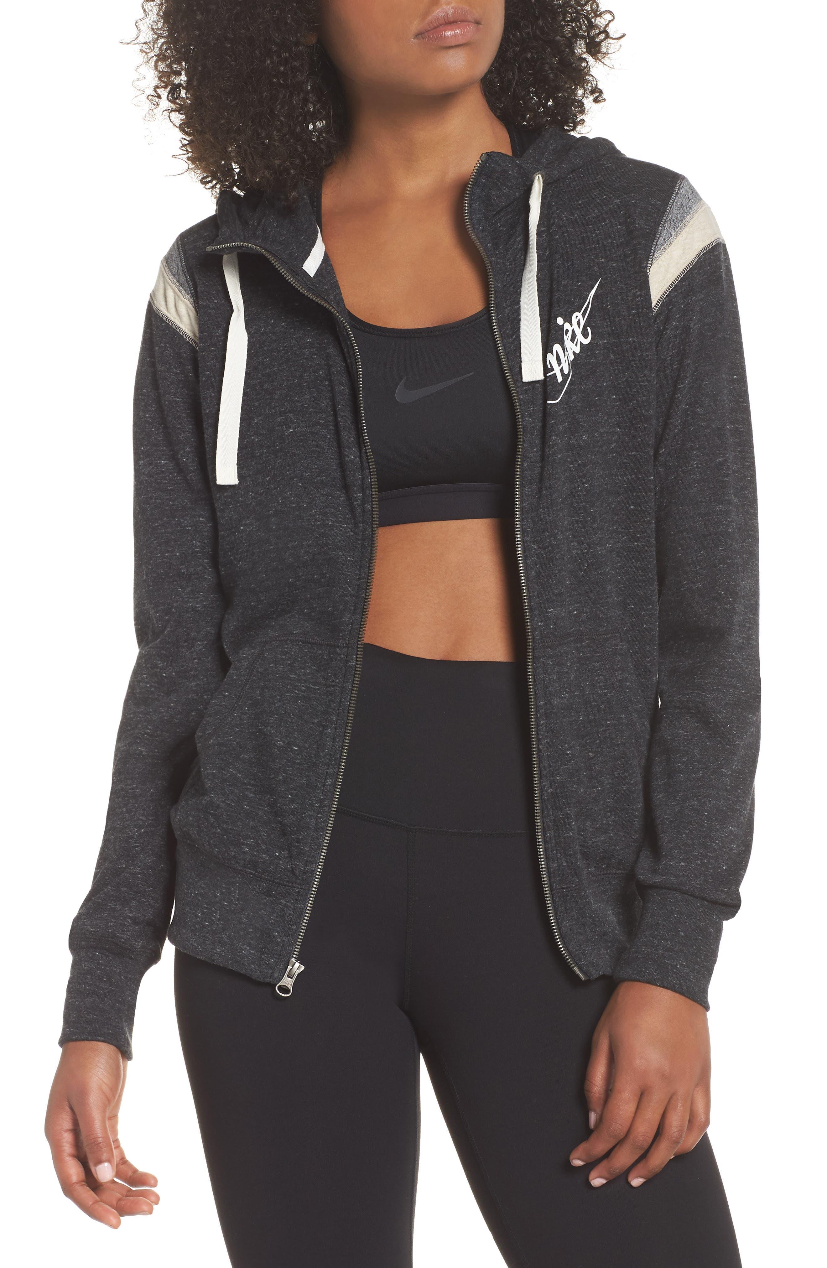 ,                             Sportswear Gym Vintage Zip Hoodie,                             Main thumbnail 15, color,                             010