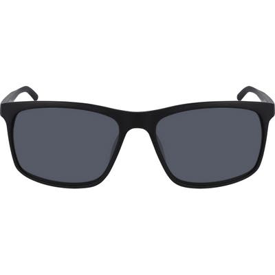 Nike Lore Square Sunglasses - Mt Black/ Light Bone/ Dark Gr