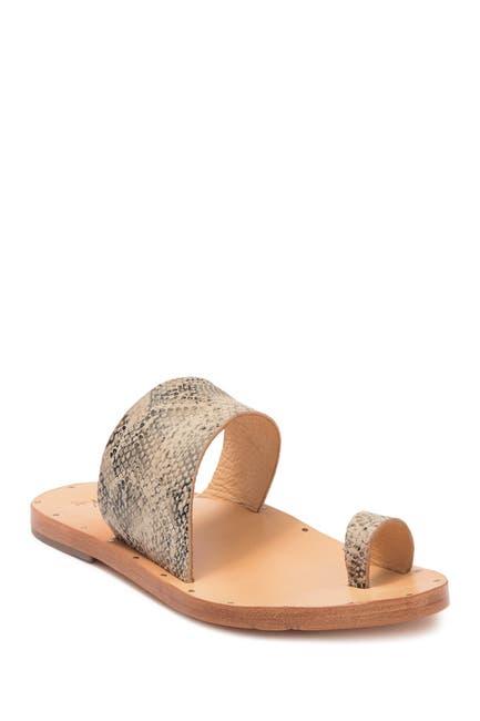 Image of BEEK Finch Single Strap Toe Loop Sandal