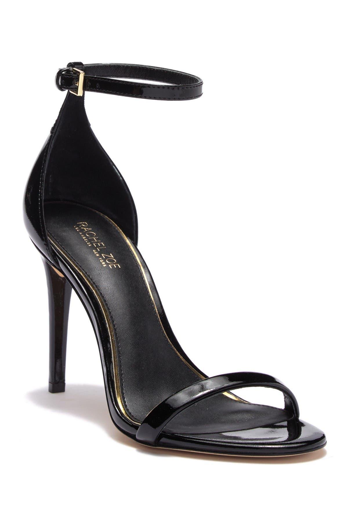 Image of Rachel Zoe Ema Patent Leather Stiletto Sandal