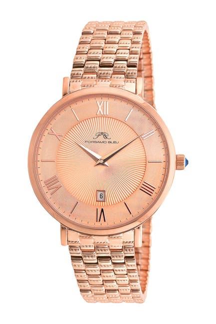 Image of Porsamo Bleu Women's Antonia Swarovski Crystal Accented Quartz Watch, 40mm
