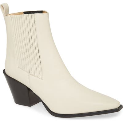 Aeyde Kate Bootie, Ivory
