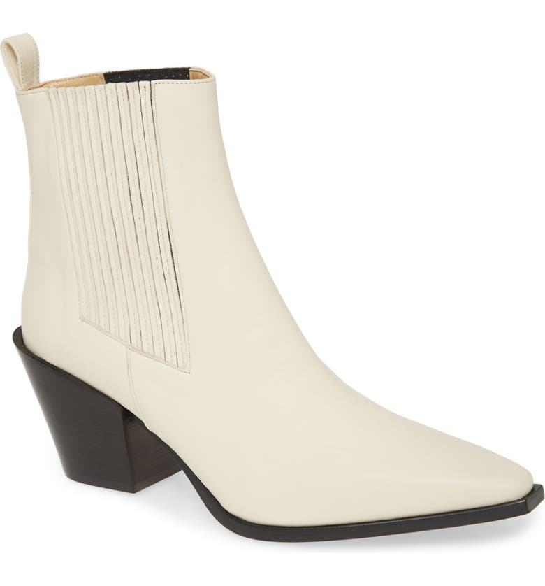 AEYDE Kate Bootie, Main, color, CREAMY