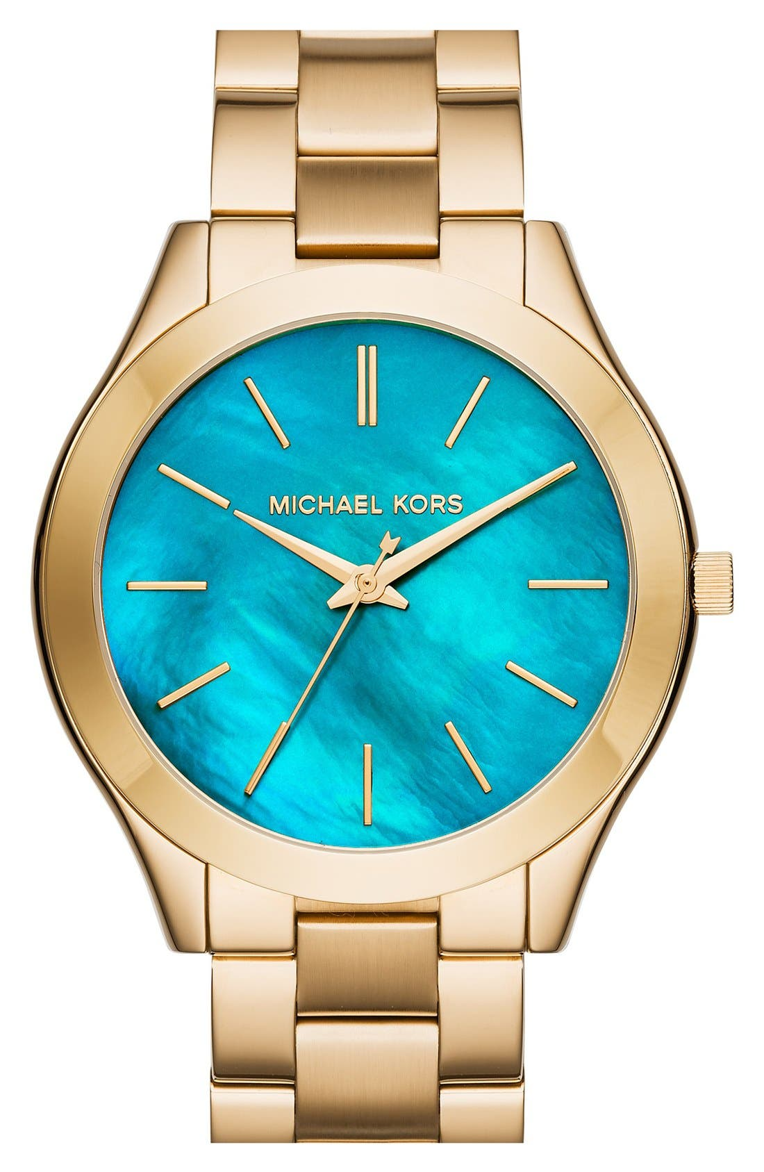 ,                             'Slim Runway' Bracelet Watch, 42mm,                             Main thumbnail 72, color,                             720