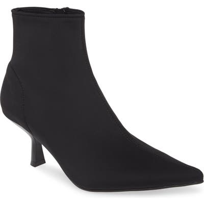 Jeffrey Campbell Egnyte Sock Bootie, Black