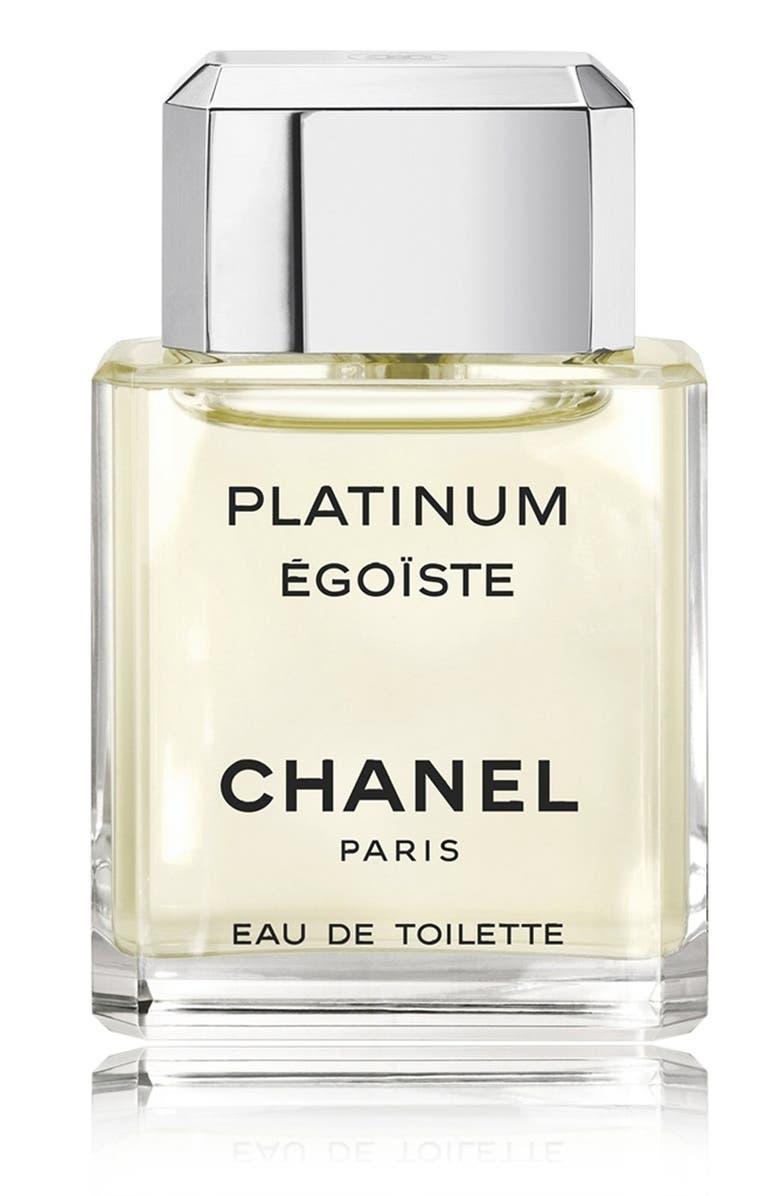 CHANEL PLATINUM ÉGOÏSTE Eau de Toilette Spray, Main, color, NO COLOR