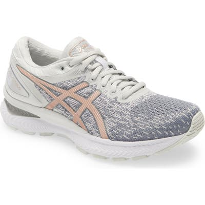 Asics Gel-Nimbus 22 Running Shoe, Grey