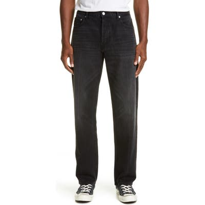 Billy Los Angeles Straight Leg Jeans, Black