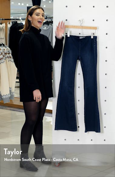 'Penny' Pull-On Flare Jeans, sales video thumbnail