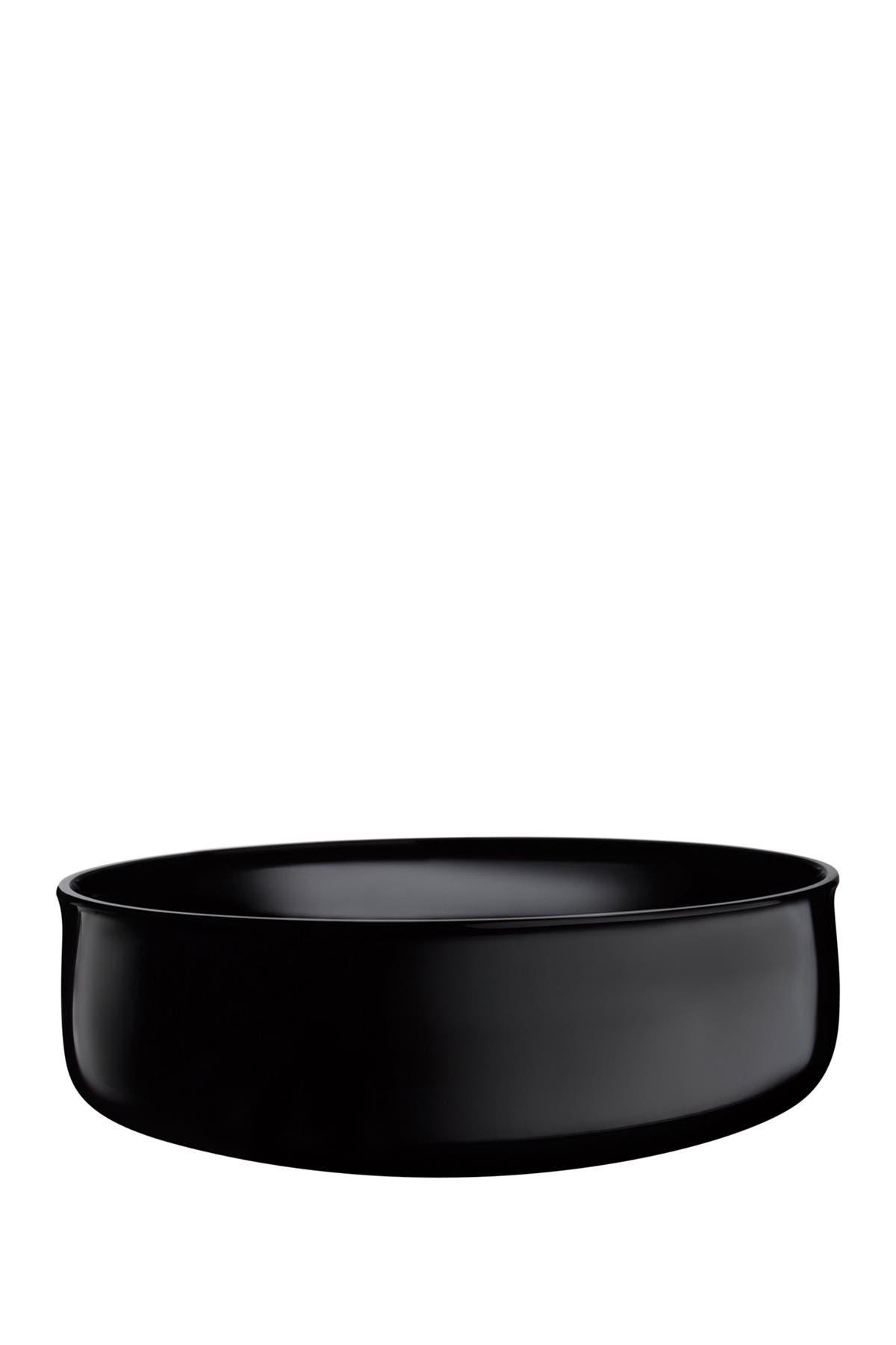Image of Nude Glass Midnight Bowl - Medium - Black