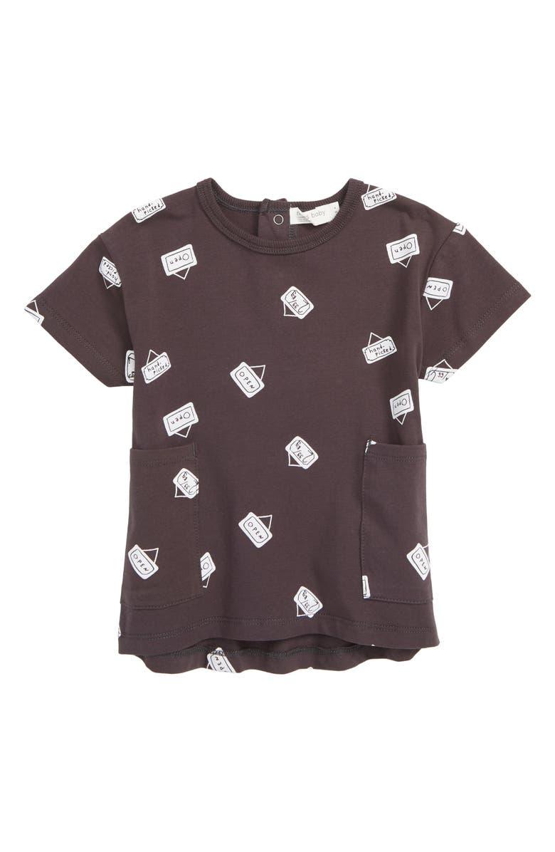 MILES BABY T-Shirt Dress, Main, color, 021