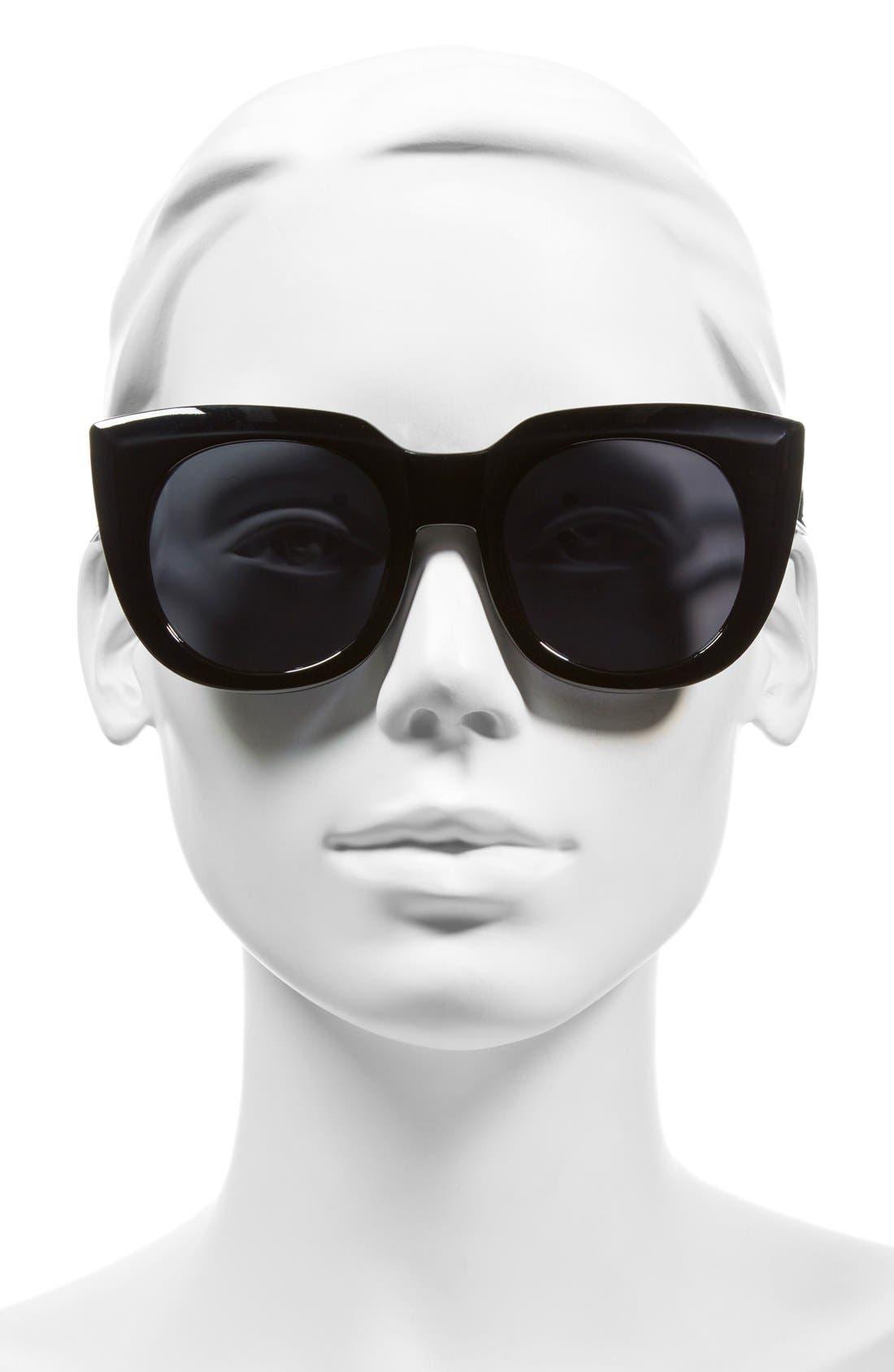 ,                             'Beam' 50mm Sunglasses,                             Alternate thumbnail 2, color,                             001