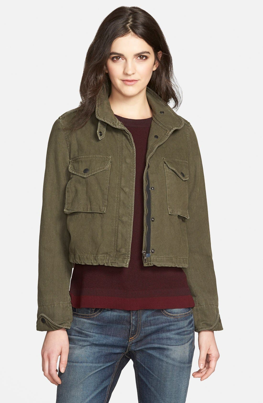 /JEAN 'M15' Military Jacket, Main, color, 300