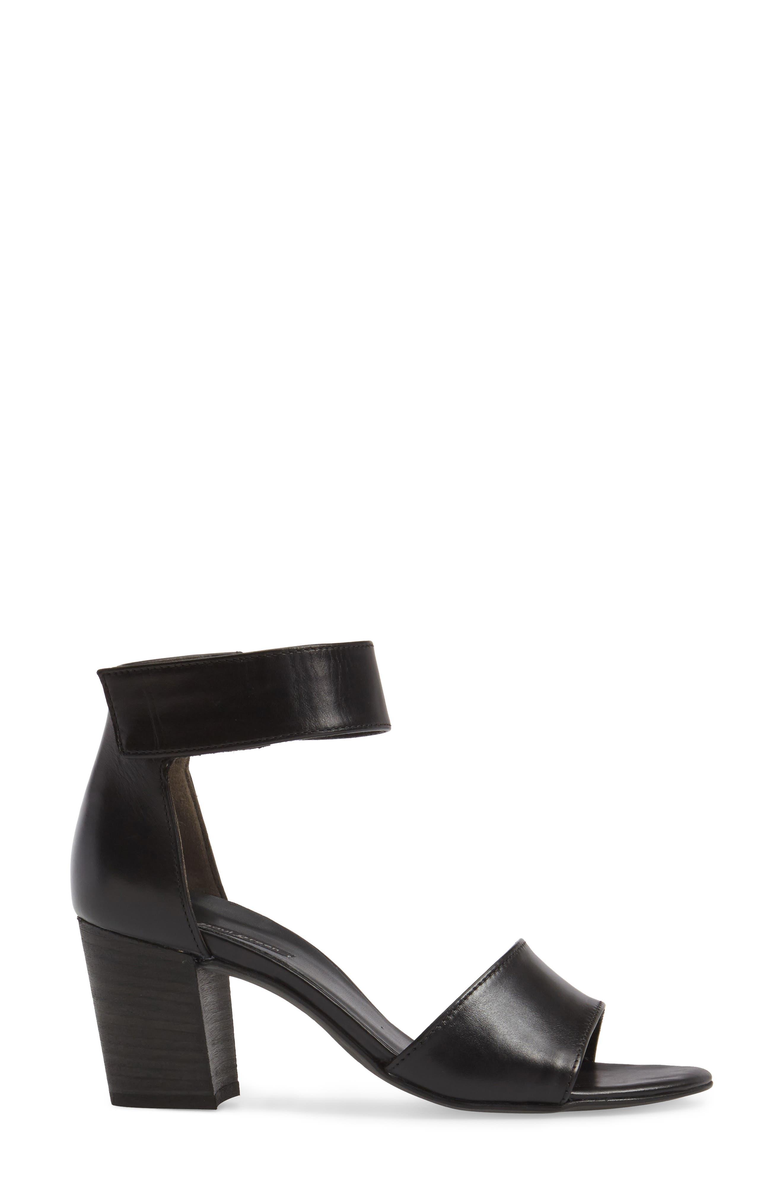 ,                             Mackenzie Ankle Strap Sandal,                             Alternate thumbnail 3, color,                             001