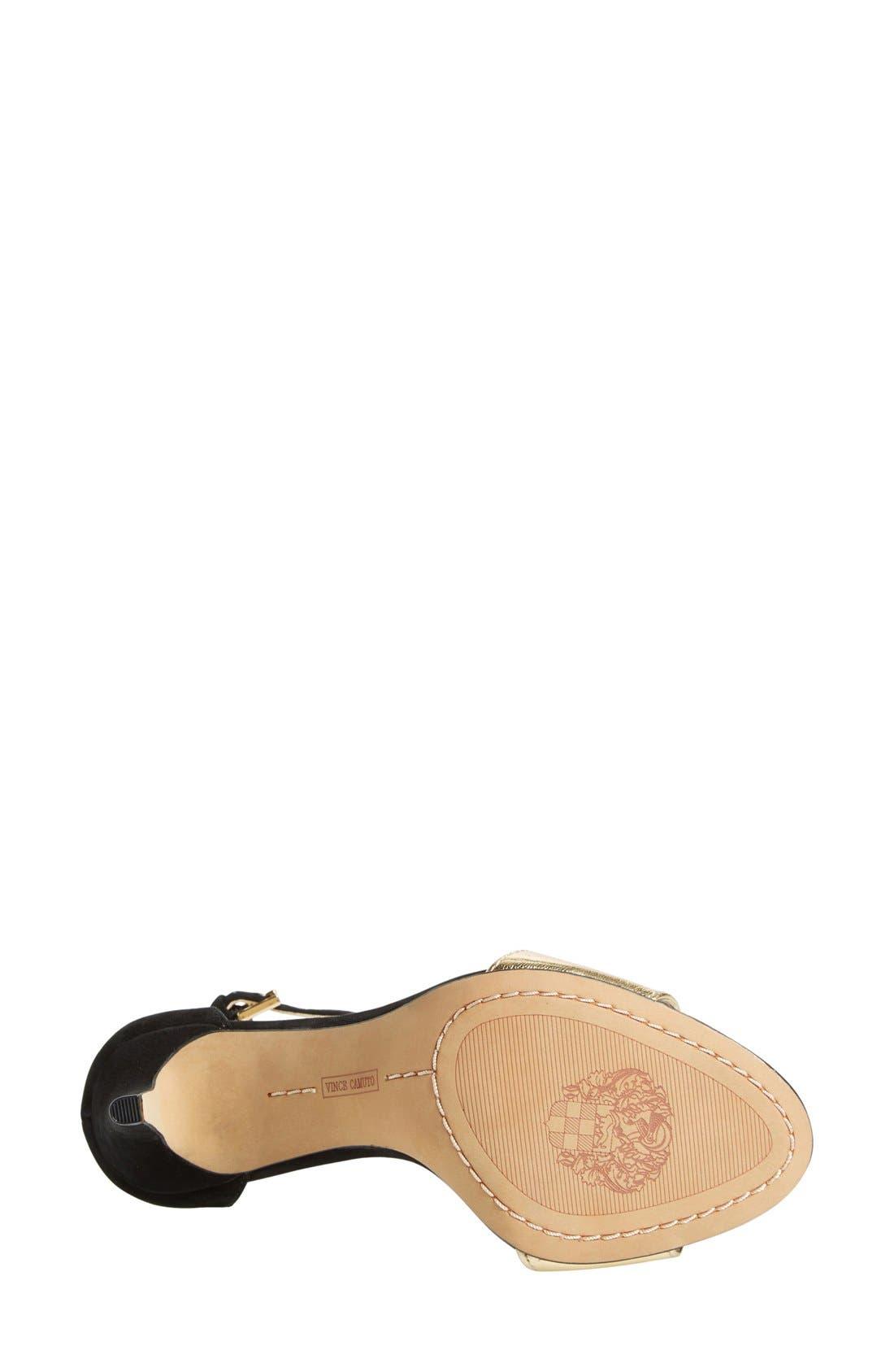 ,                             'Court' Ankle Strap Sandal,                             Alternate thumbnail 8, color,                             002
