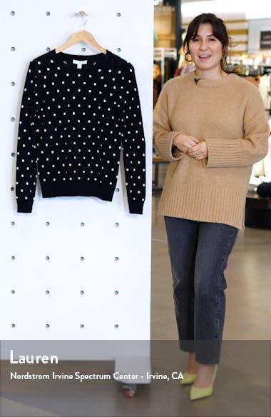 Three Button Crewneck Sweater, sales video thumbnail