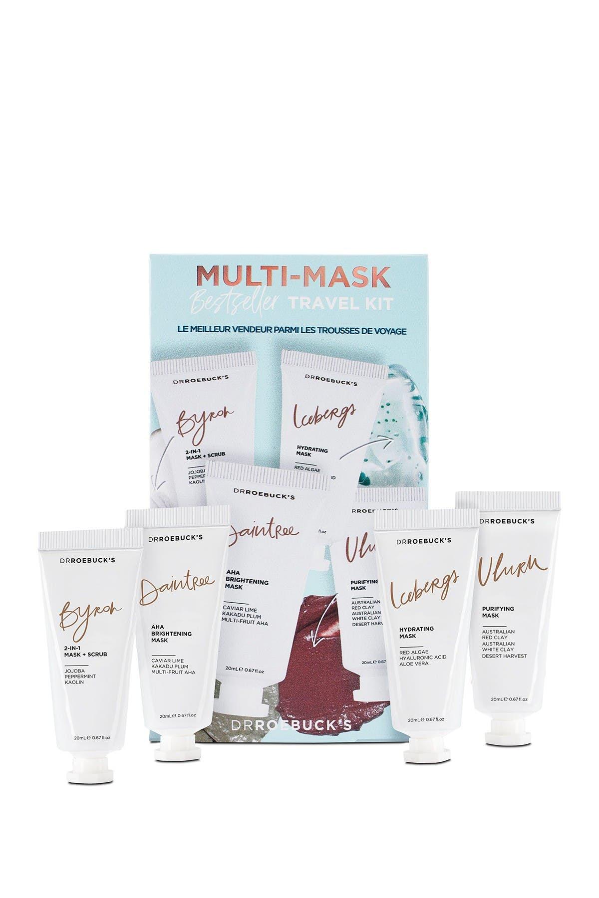 Image of Dr Roebuck's Multi-Mask Bestseller Travel Kit