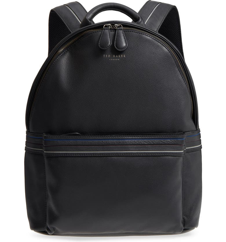 TED BAKER LONDON Huntman Stripe Backpack, Main, color, 001