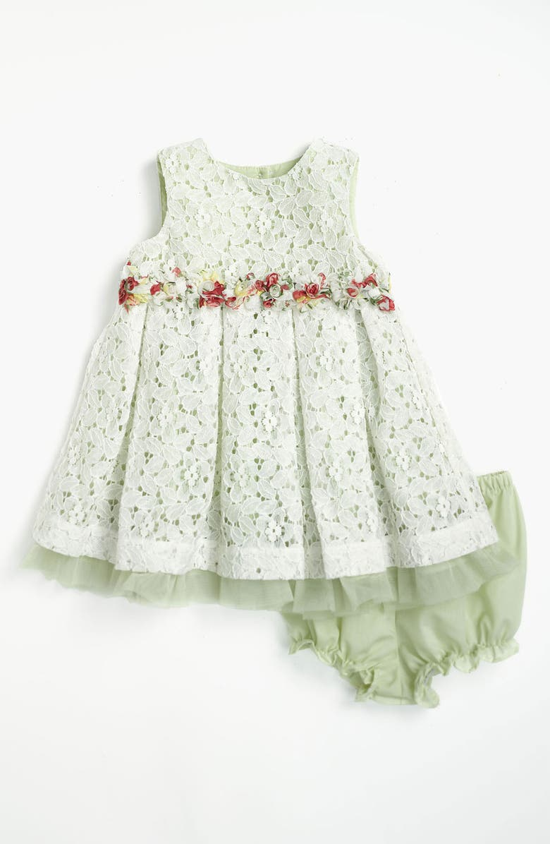 PIPPA & JULIE Lace Dress & Bloomers, Main, color, 331